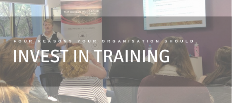 Four Reasons Your Organisation Should Invest In Training